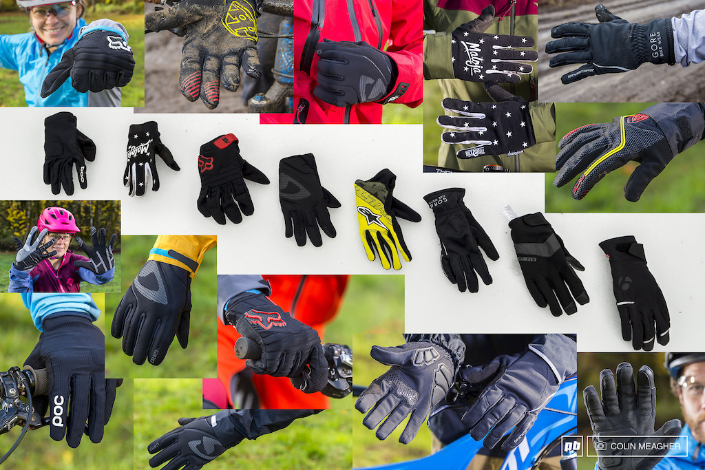 Cool weather riding gloves.