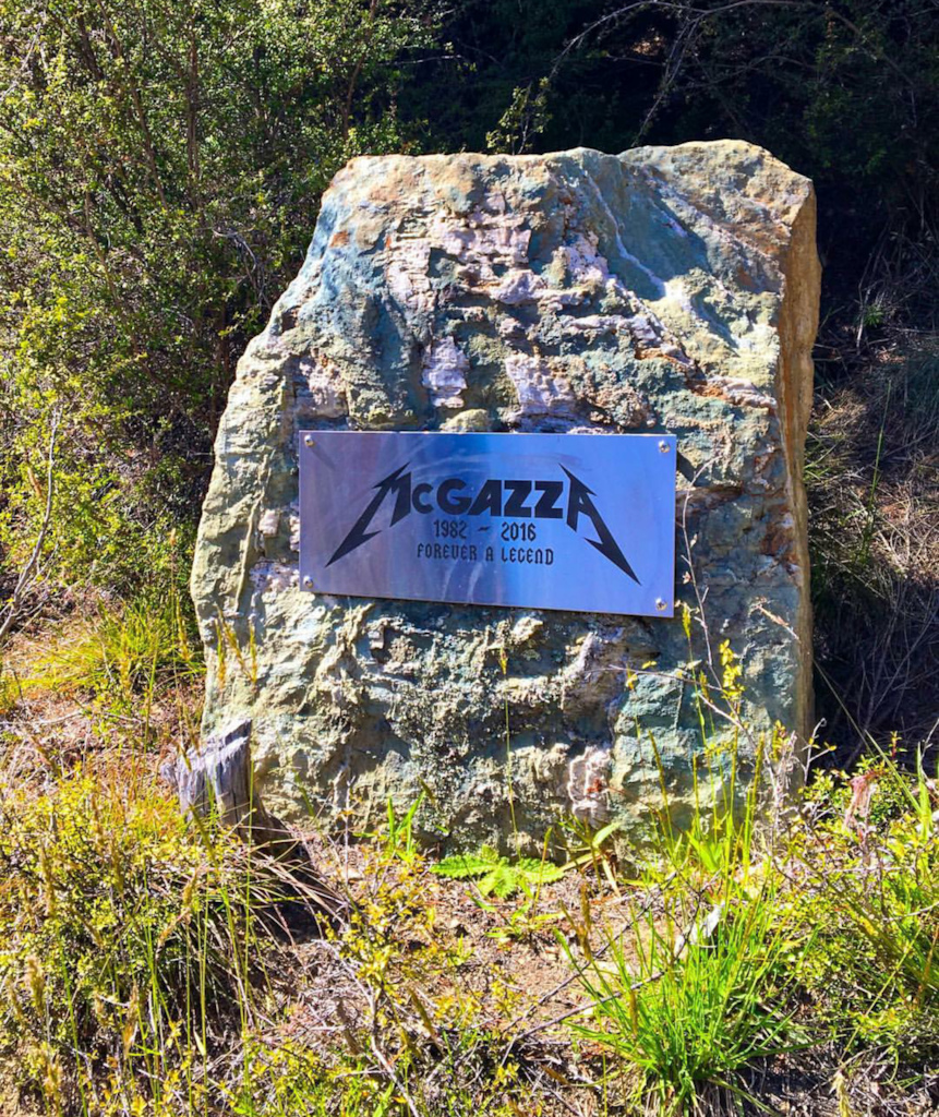 Mcgazza memorial rock