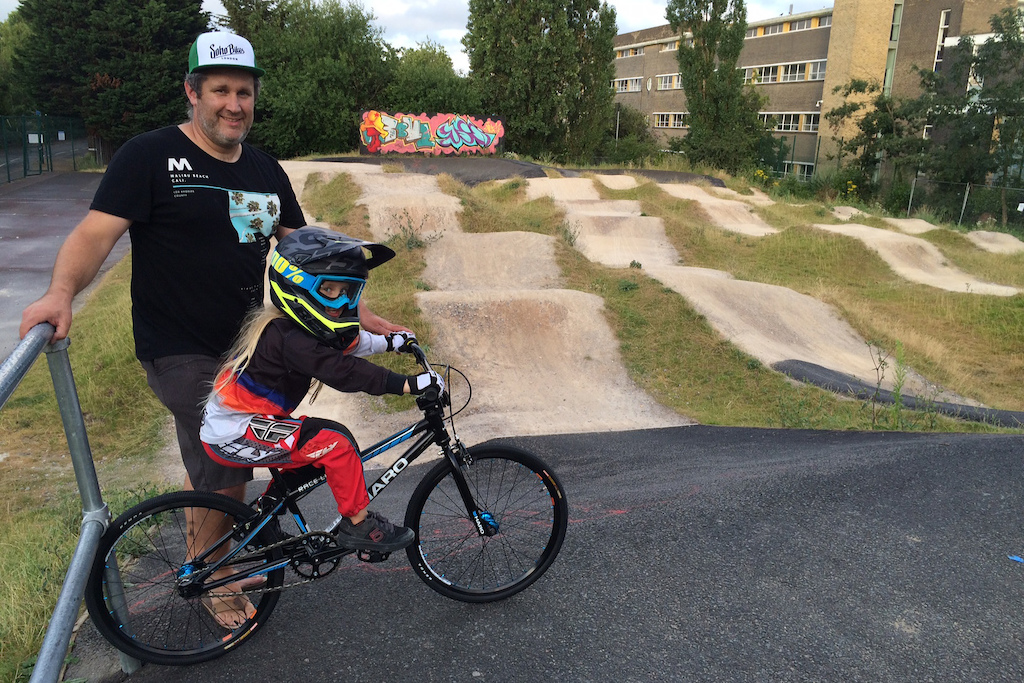 Share The Ride at Hammersmith BMX Club London