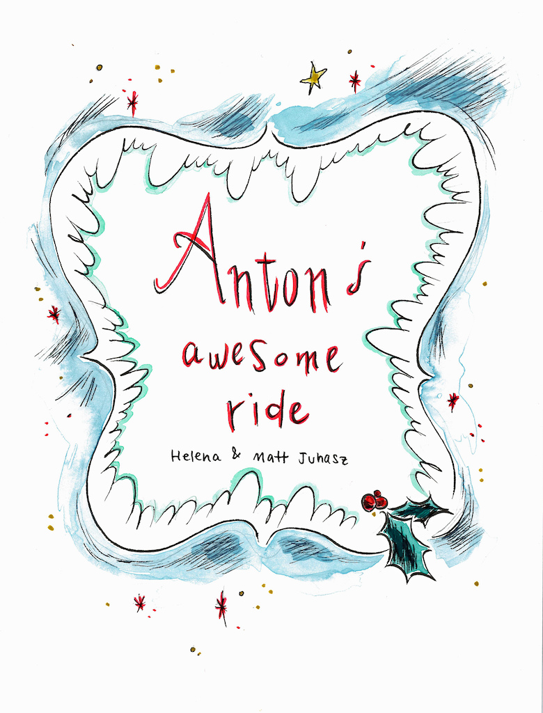 Anton s Awesome Ride pg. 1
