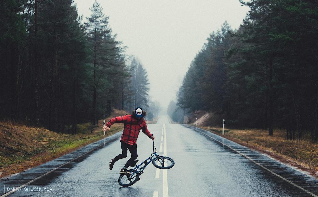 Bert Ribul and the open road