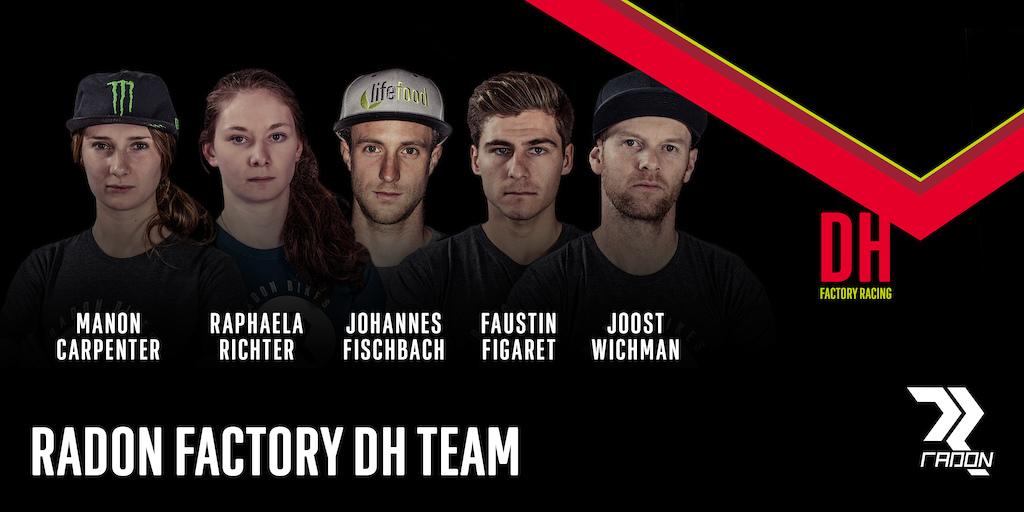 Radon Factory DH Team 2017