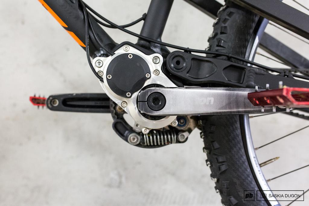 Nicolai derailleur vs gearbox comparison.