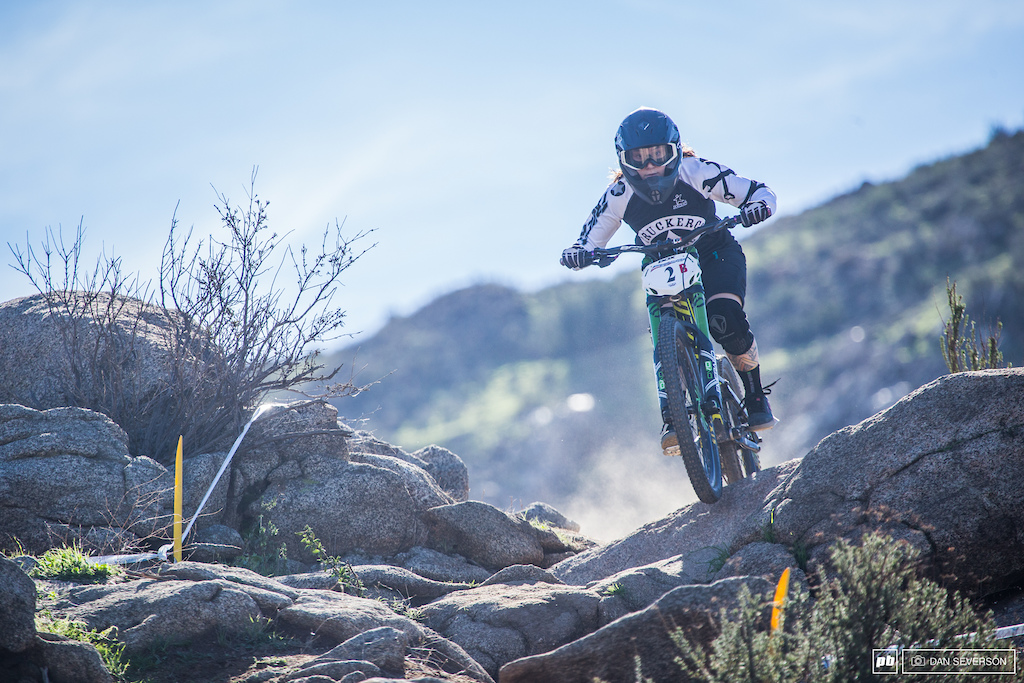 Looks like the win for Pro women s rider CJ Selig was meant 2B.