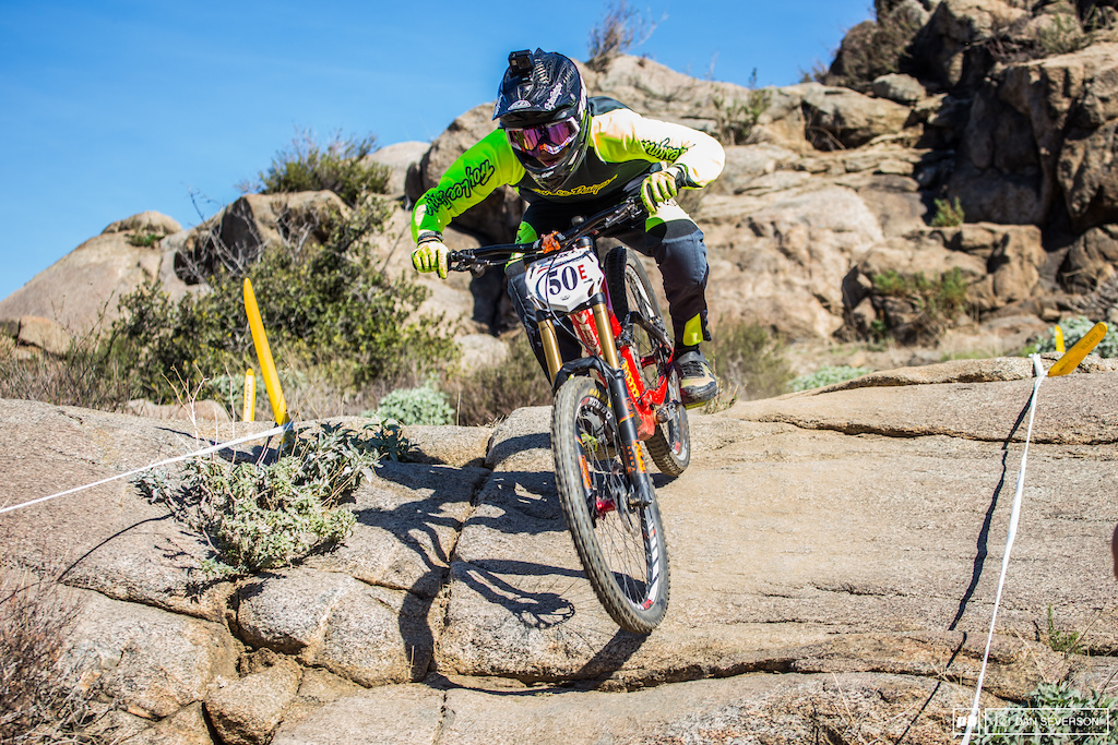 Even though Dylan Gay s helmet is around 3 years old we ll let it slide considering he took the win in Expert Men 19-29.