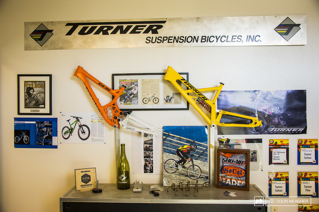 Turner Bikes shooting for Pinkbike 2017 From the Top with RC.