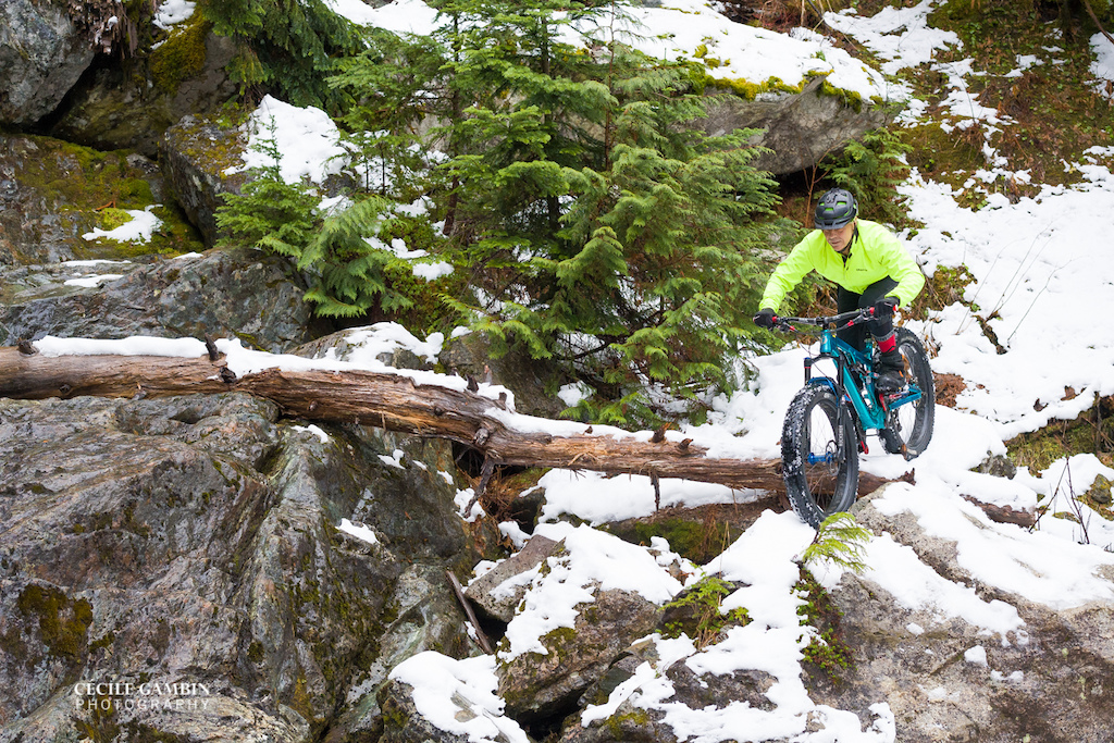 Fun day of Fat Biking at Elfin Lakes with my favourite camera person Cecile Gambin