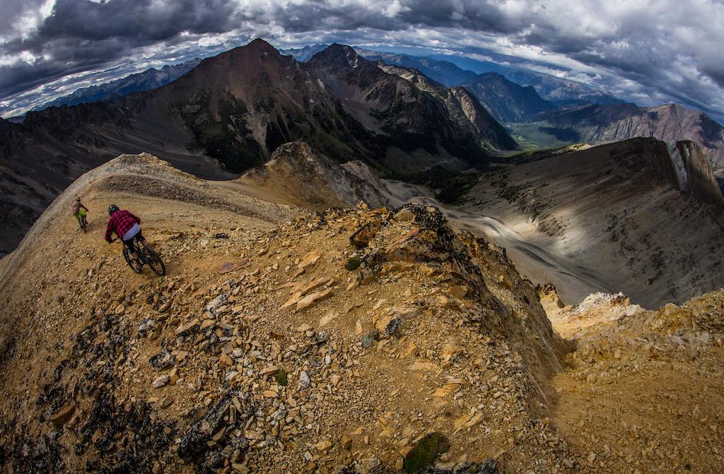 High Lillooet Alpine decent