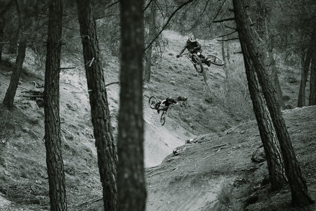 Cmac and R-Dog shred in Granada Spain during the filming of Not 2 Bad with Anthill Films.