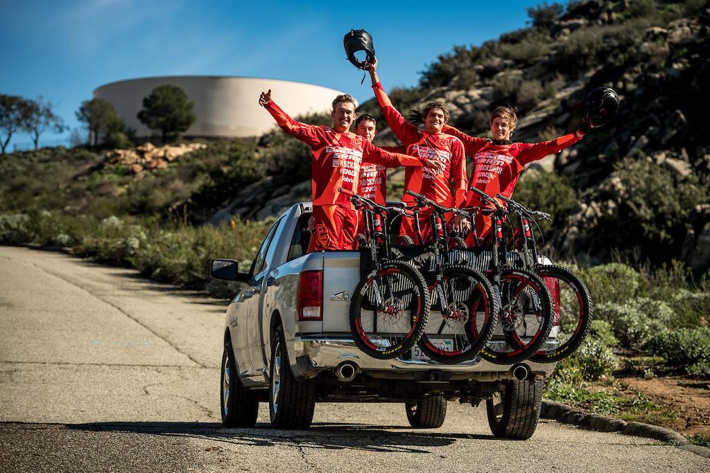 Intense Factory Racing 2017 Team