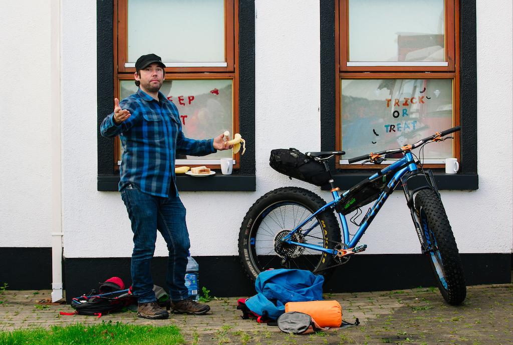 Kona Wozo in Ireland A Microadventure