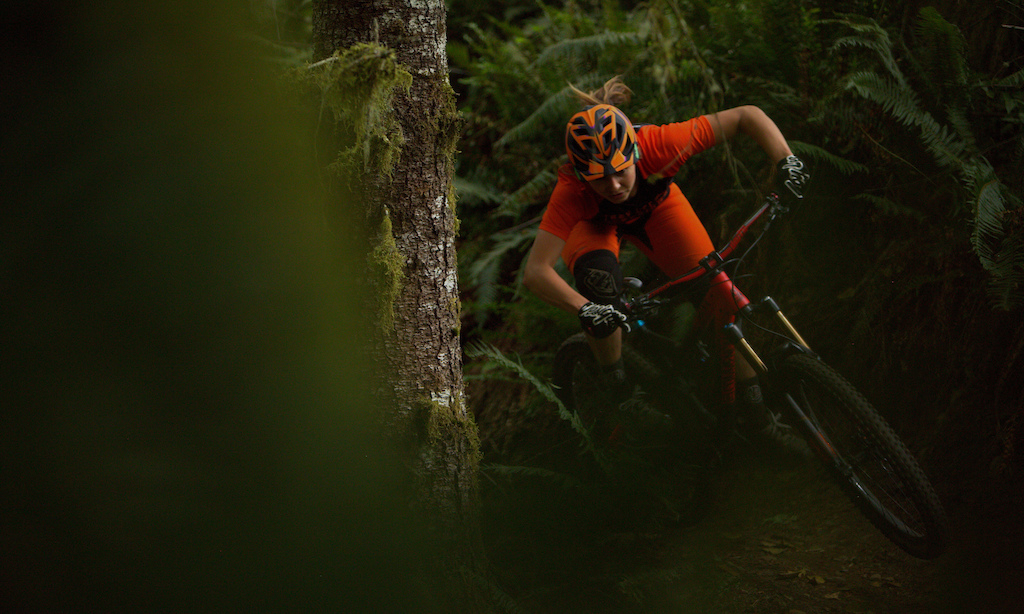 Taking advantage of some prime conditions on the local trails. Photo Jay Provins