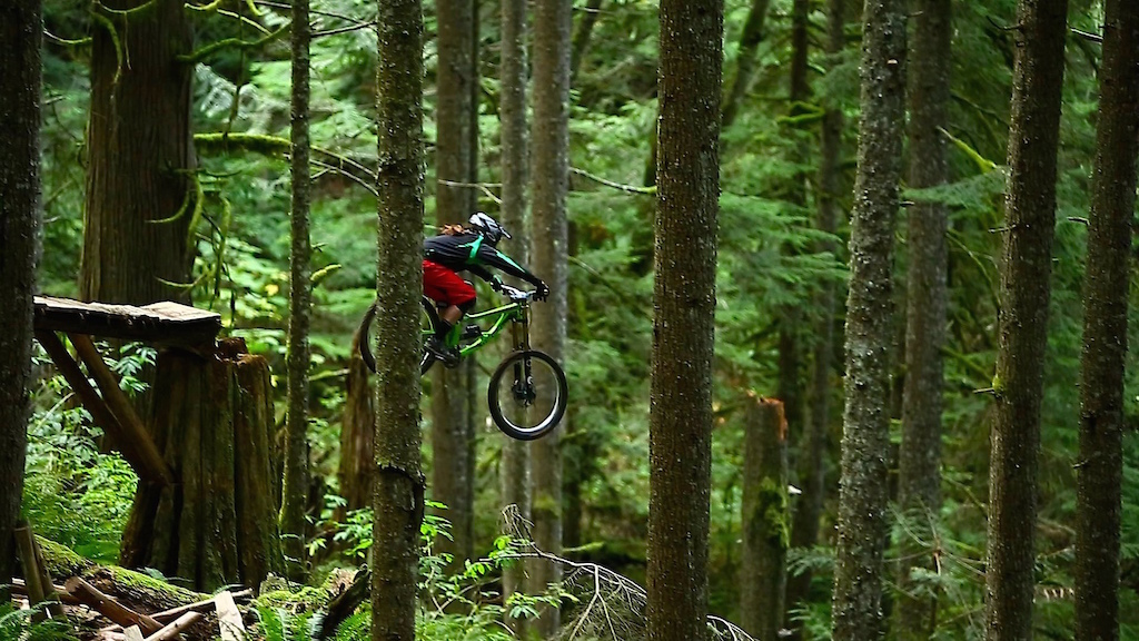 Airing it out filming. Photo Jay Provins