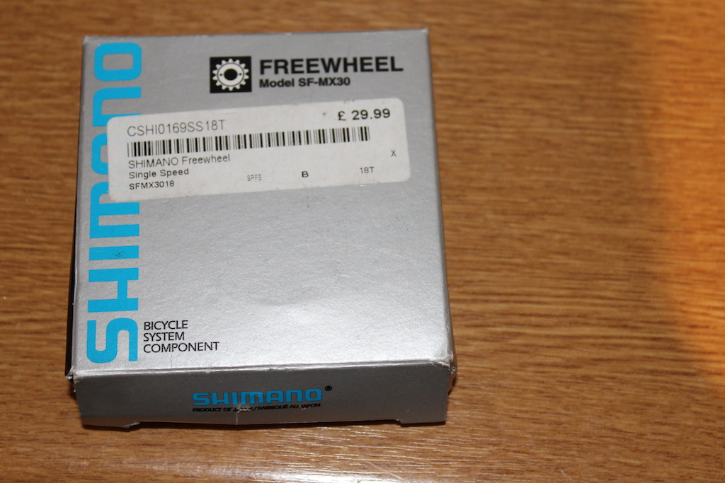 0 Shimano MX30 Singlespeed Freewheel - 18T