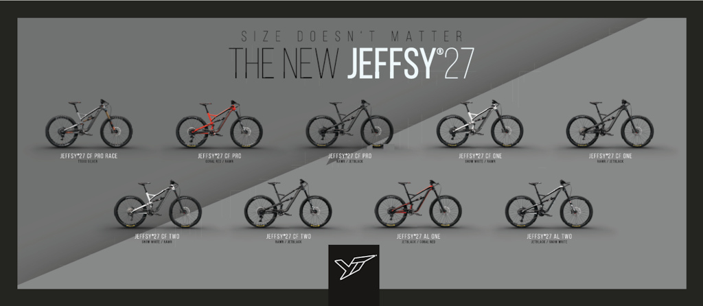 YT Jeffsy 27 First Ride 2017