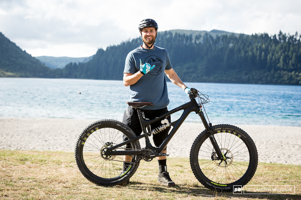 Dan and his tricked out Zerode Taniwha