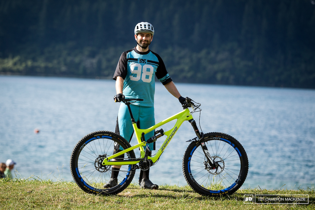 Alex Tauge and his Zerode Taniwha