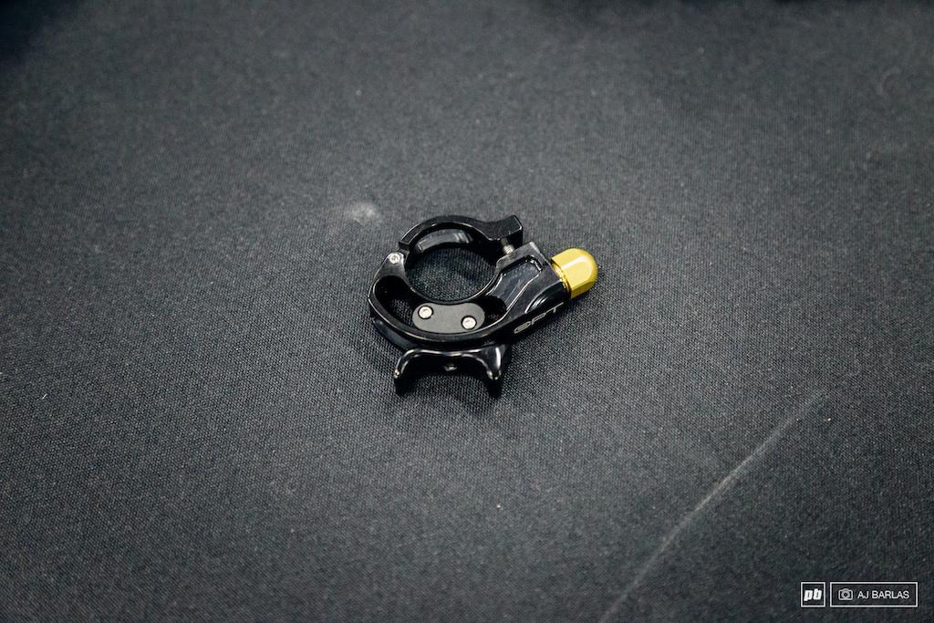 Cane Creek Opt shock remote lever adjustability