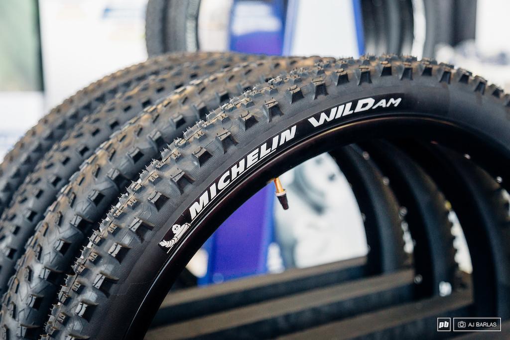 Michelin's new Wild AM tire.