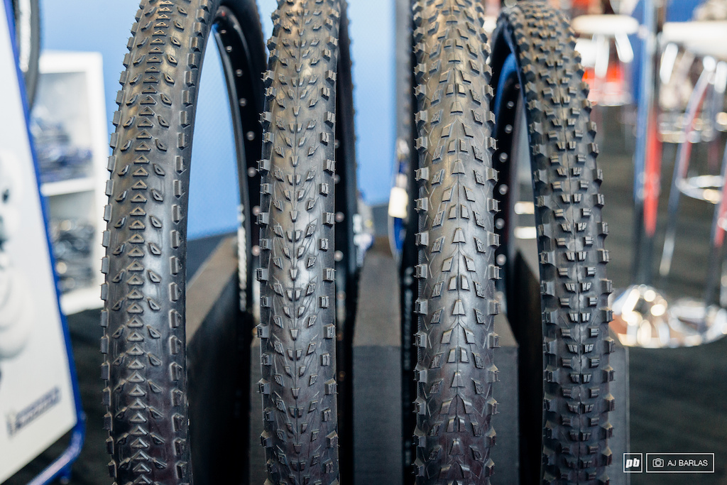 Michelin had their latest mtb tire offerings on display and while details are thin with the official launch only weeks away they include new casings and updated compounds