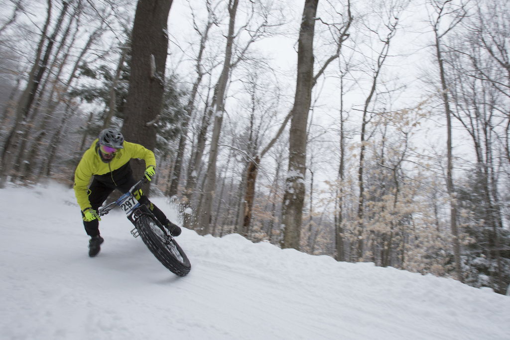 The Woolliest man in fatbiking Mike Mansmann. Photo Ryan Thibault