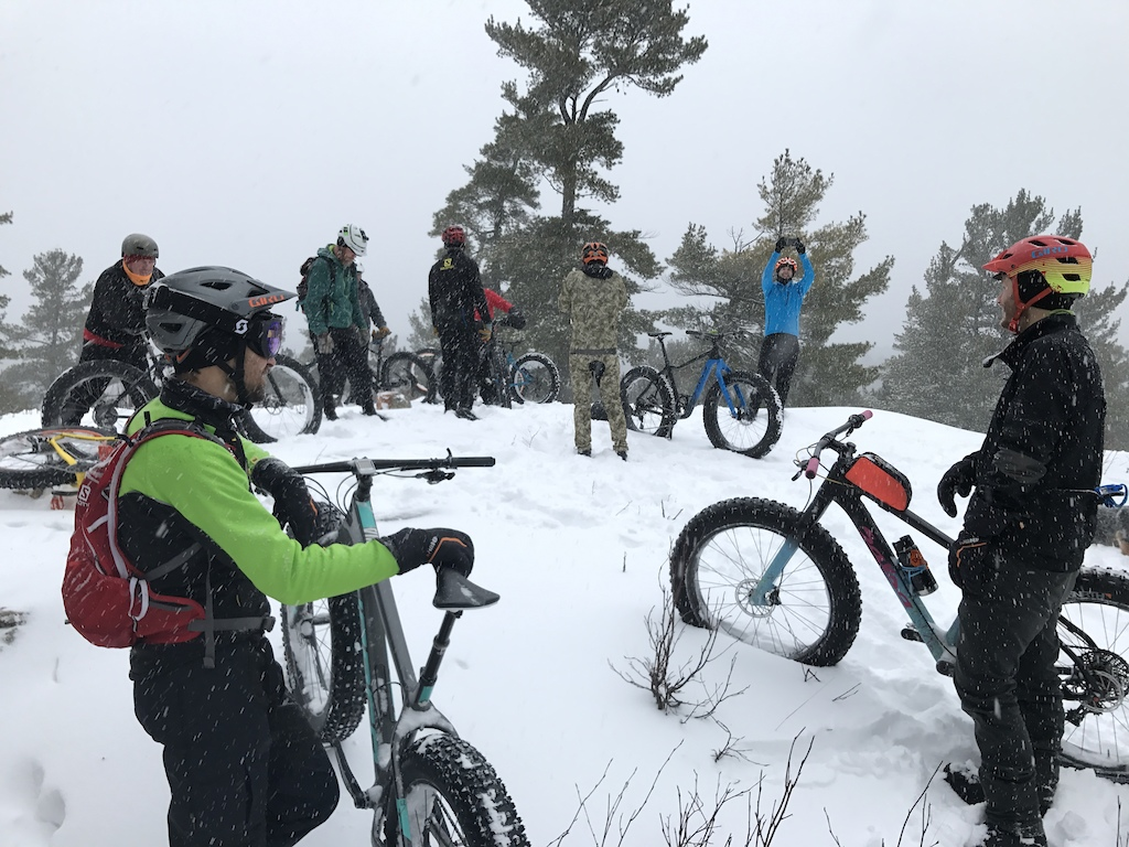 Fat Biking Marquette, Michigan