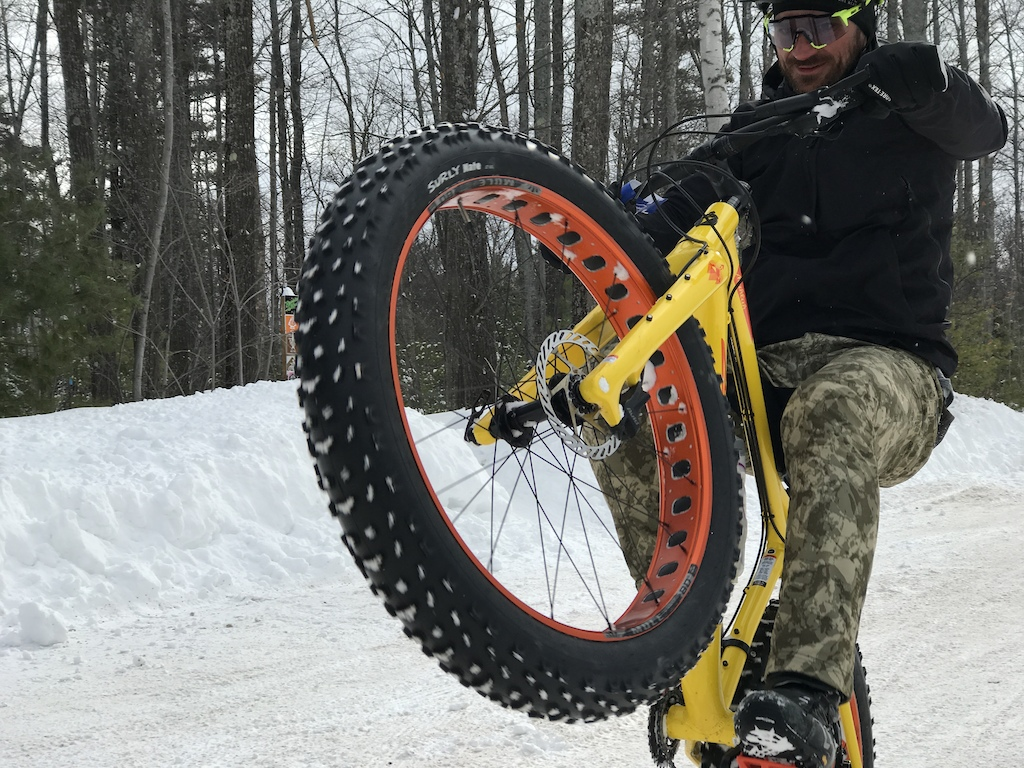 Fat Biking Marquette Michigan