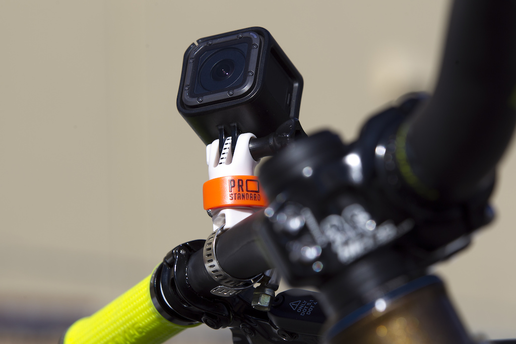 The 360 Quick Connect Leaverite Pipe Master GoPro Mount is the lightest, fastest most adjustable GoPro mount for your bike. Mount onto your bars, seat rail or frame with the included metal clamp or velcro strap.