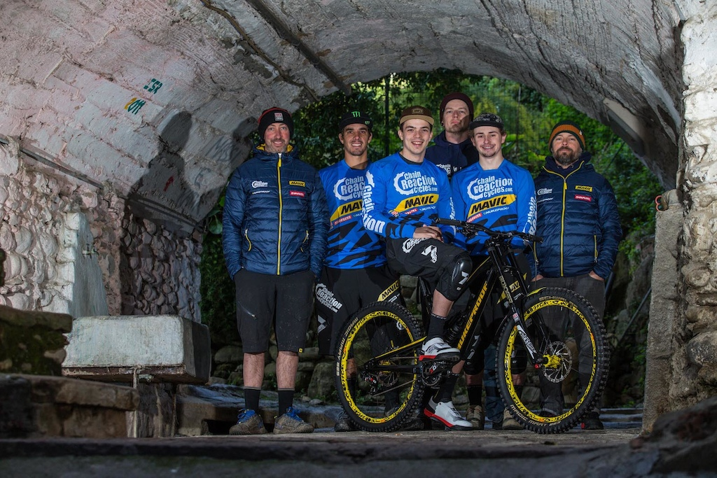 Team Chain Reaction Cycles Partners with Mavic - Team Camp 2017