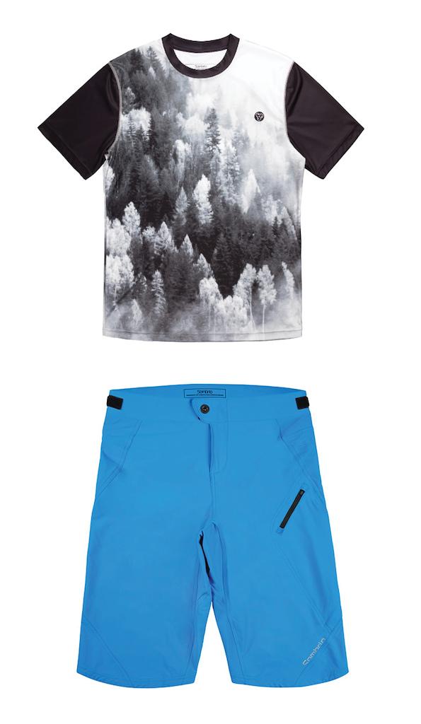 Sombrio 2017 Renegade Jersey Sombrio 2017 Badass Shorts