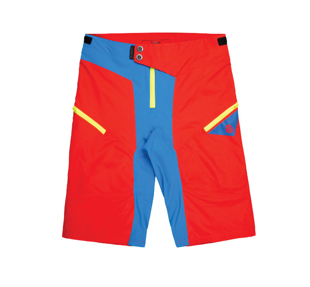 Sombrio 2017 Rev Shorts in Fire Truck Red
