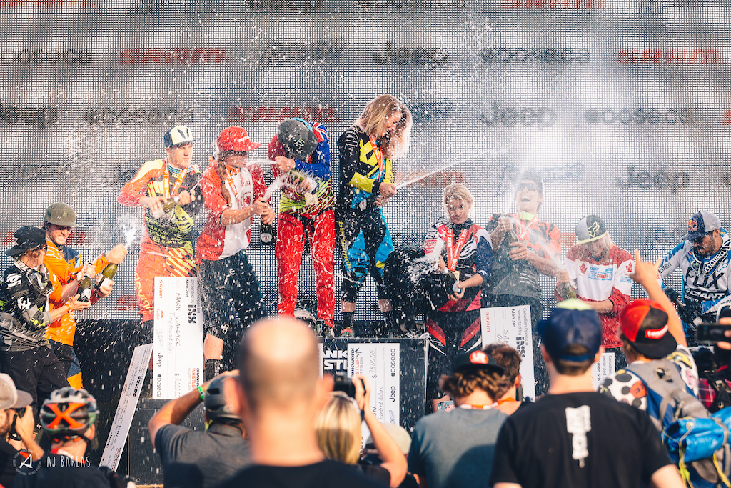 Crankworx 2015 - Canadian Open DH Podium