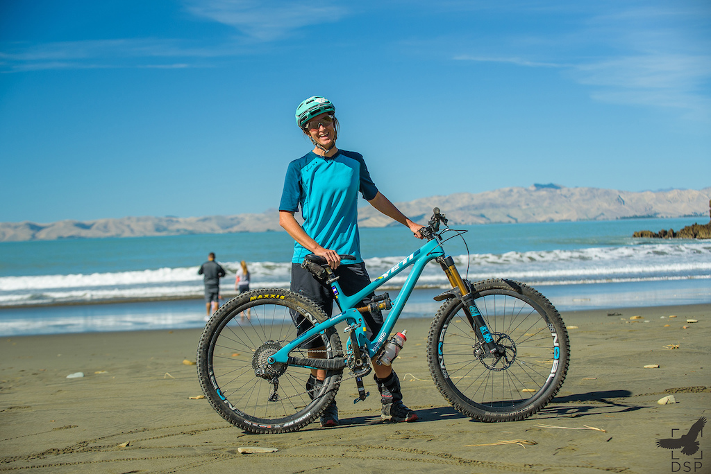 Megan Rose took a couple of days out from organising her own races to rally her Di2 Yeti SB 5.5