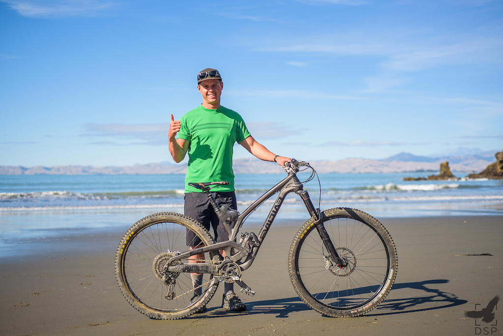 Will Cadigan with his murdered out Evil Wreckoning.