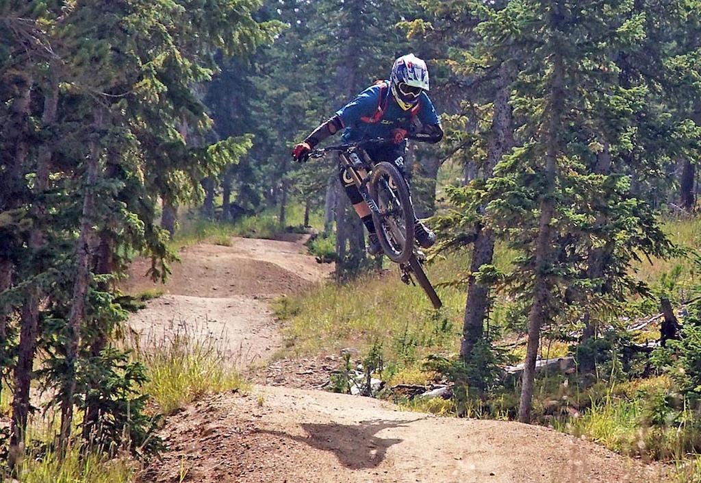 Doug on the Rainmaker Jump Trail