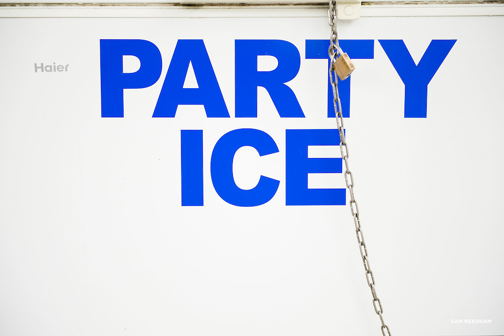 Aint' no party without ice.