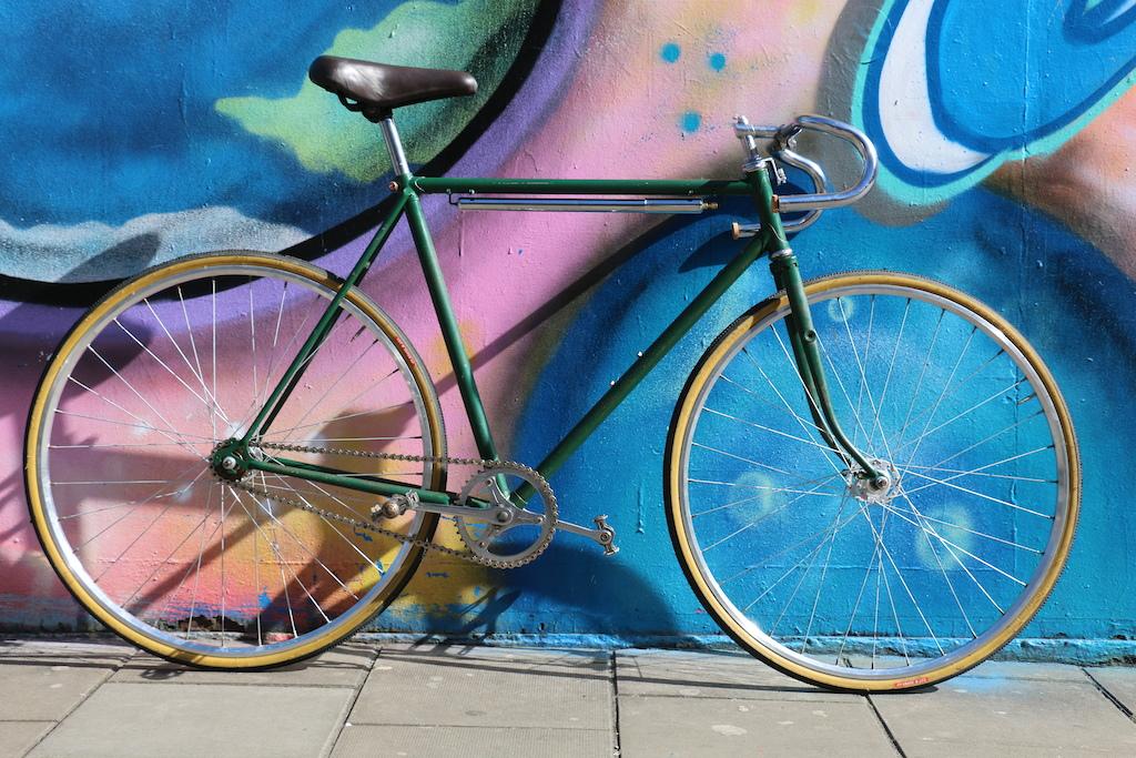 0 Vintage Raleigh Fixie