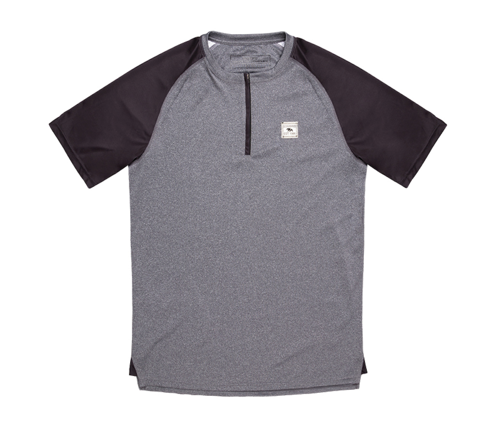 Sombrio 2017 men s Ridgeline Jersey in Grey Melange