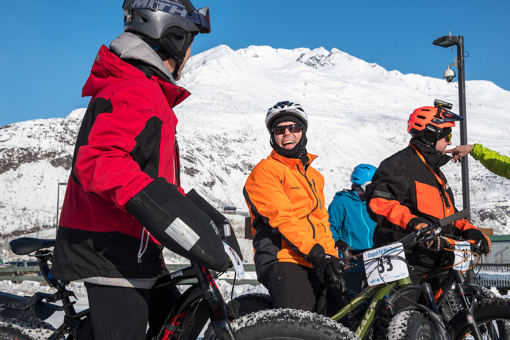 When the skies are blue it s hard to not enjoy getting out the fat bikes in Valdez.