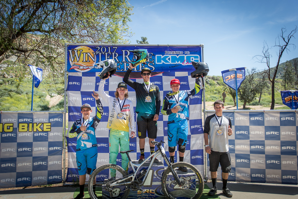 2017 Fontana KMC Winter Series, Round 6 - Gwin with the ...
