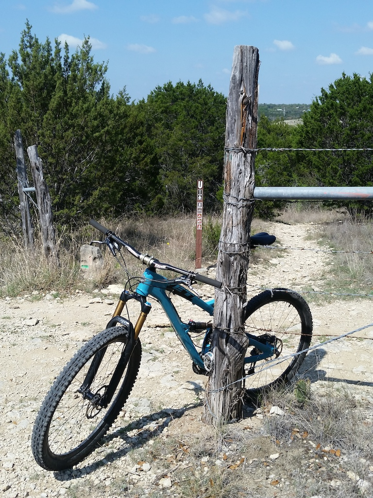 Sort of a mix master where several trails come together. Nice day today. Got in just over 16 miles!