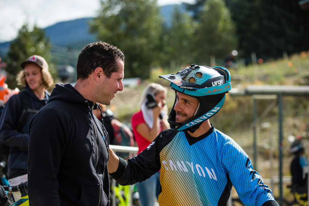 In Memoriam - during Enduro World Series round 6 Whistler Canada 2015. Photo by Matt Wragg.