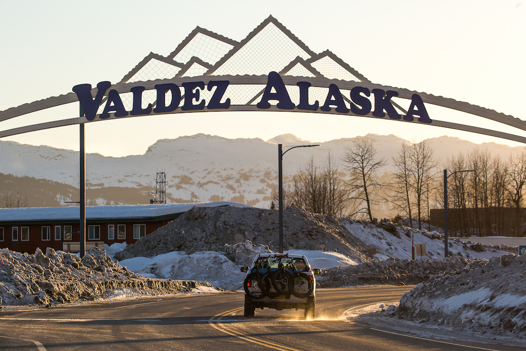 Welcome to Valdez. Photo Robb Thompson