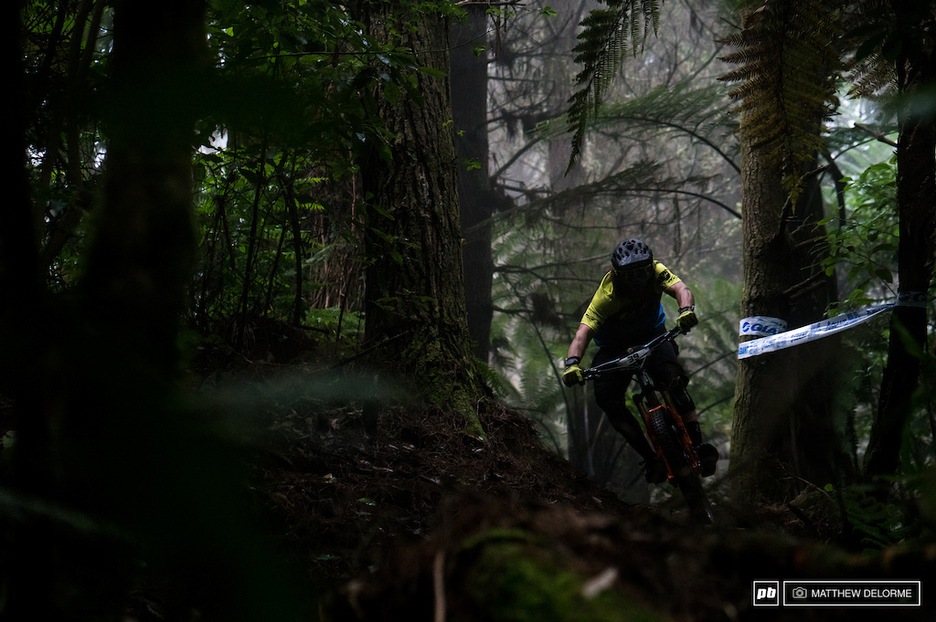 Wyn Masters cam out and rode hard today. The wild Kiwi had what it took to walk away with the win.