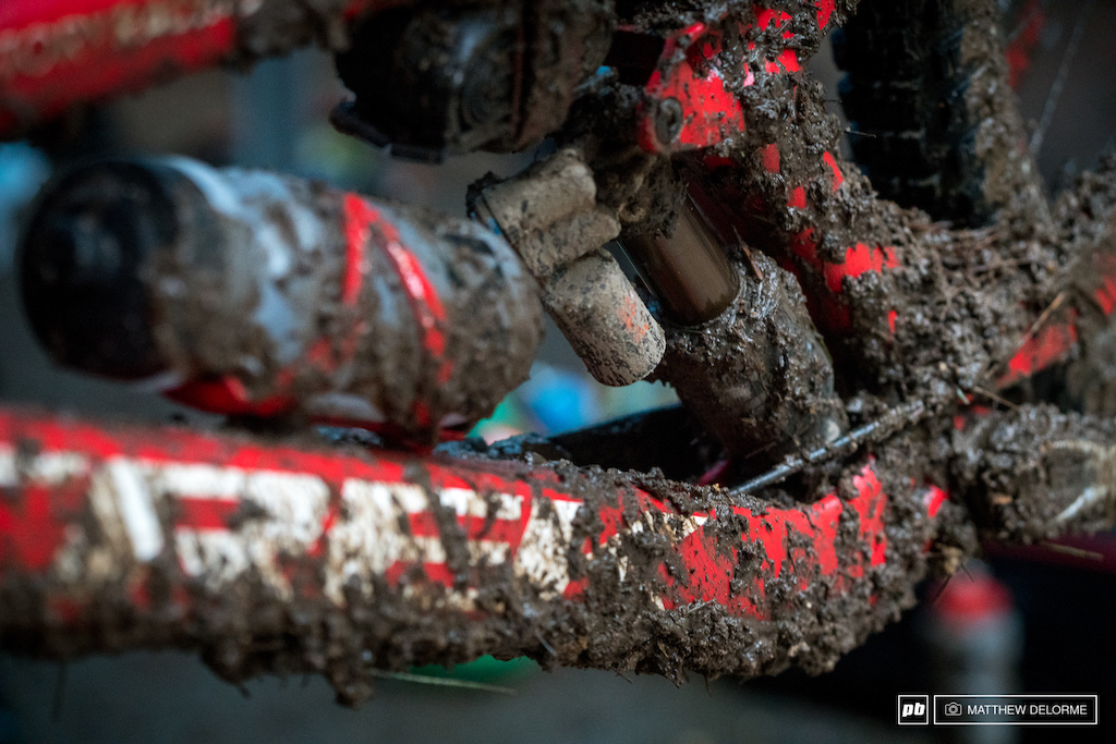 Mud. There was plenty of it. It caused problems on the tracks and in the pits.