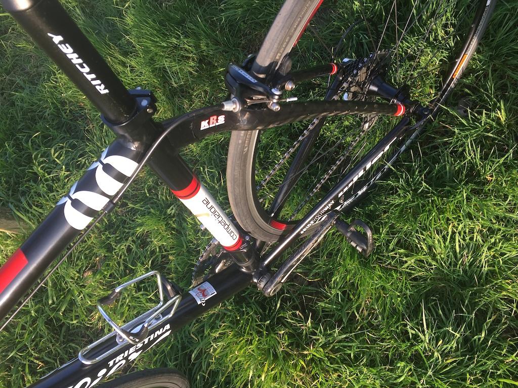2015 wilier triestina 54cm campagnolo carbon cranks