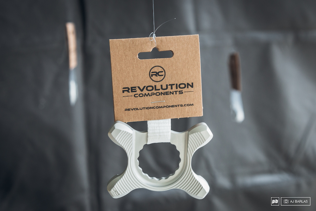 Revolution Components chainrings and cassette parts