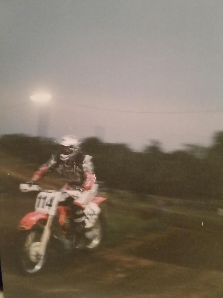 Night racing at Village Creek in Fort Worth , Texas. Around 2002.