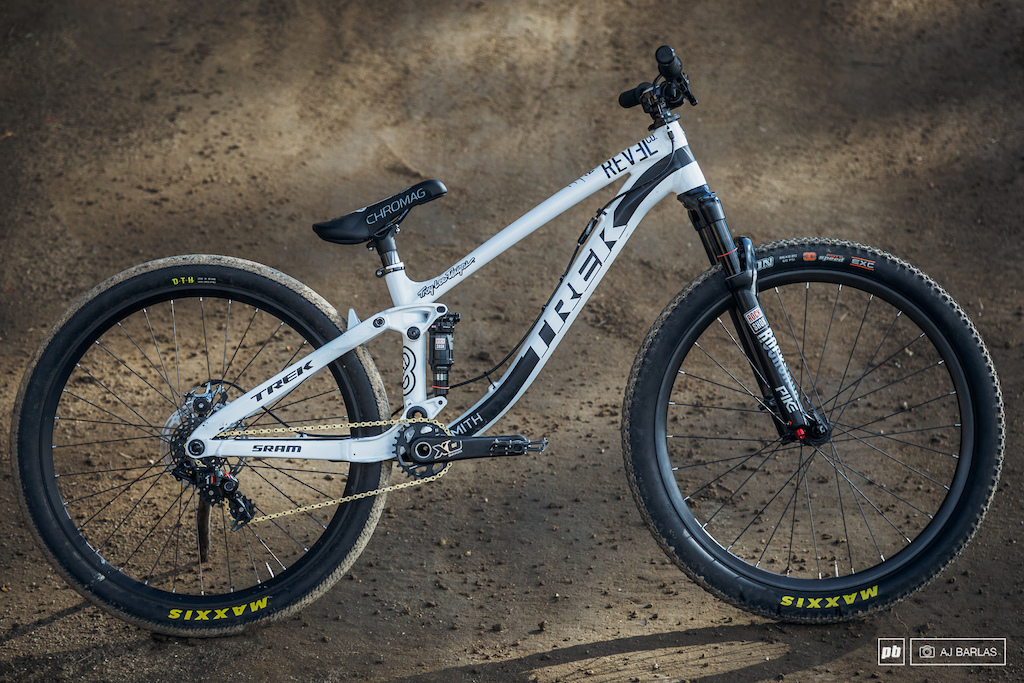 Brandon Semenuk s Trek Ticket S slopestyle bike