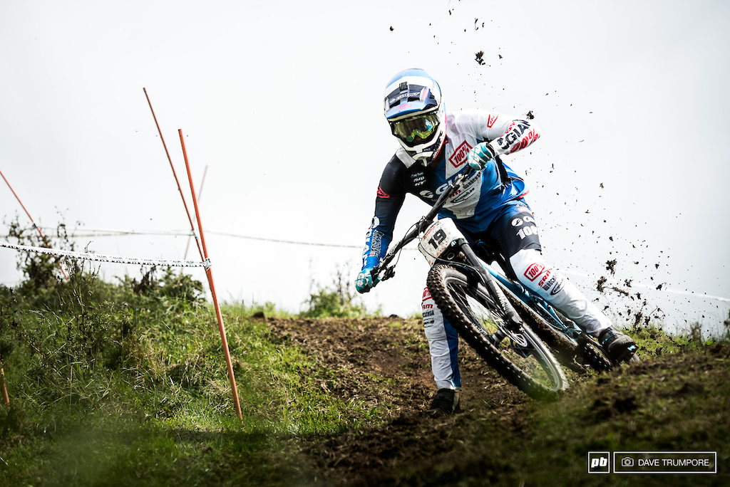 Full moto and with the roost flying Eliot Jackson had no trouble with the slick conditions to kick off the season with a spot on the podium.
